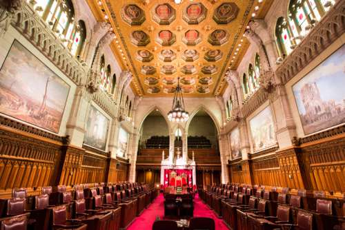 Chamber of the Senate of Canada